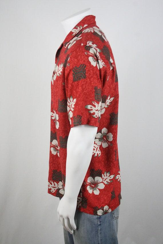 Vintage Aloha Shirt Rayon Ocian Pacific Shirt Med… - image 7