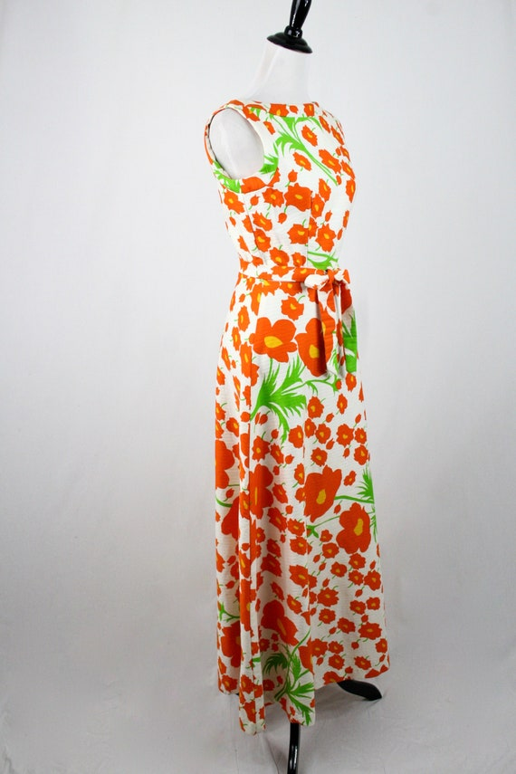 1970s Hawaiian Dress Maxi Dress by Malia Honolulu - image 6