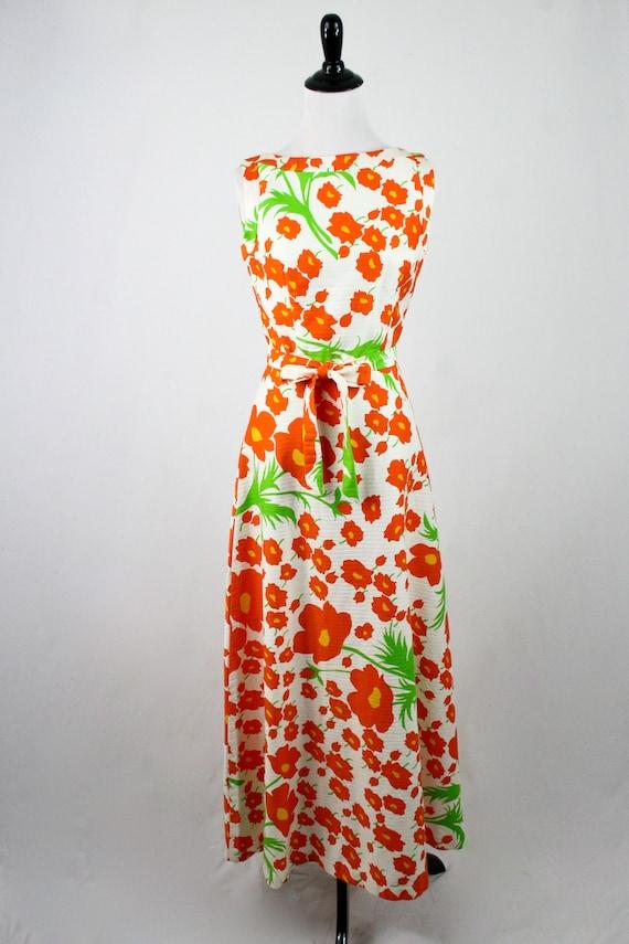 1970s Hawaiian Dress Maxi Dress by Malia Honolulu - image 3