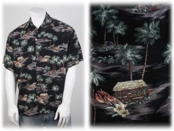 Vintage Aloha Shirt Rayon Moda Campia Moda Shirt … - image 1
