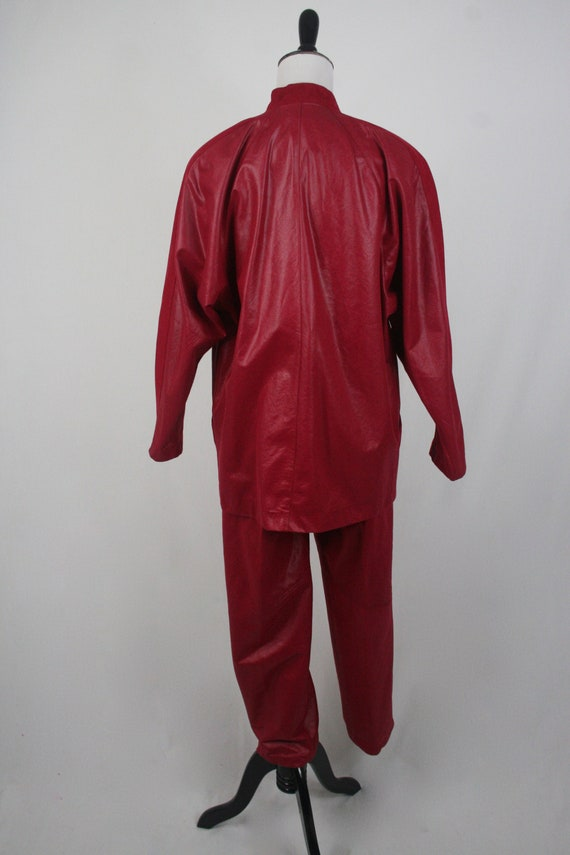 1980s Pants and Jacket Set City Girl Pant Suit - image 6