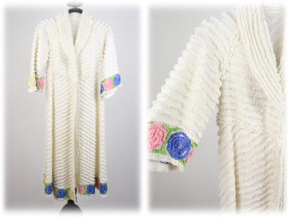 1950s Robe Girl's Chenille Robe