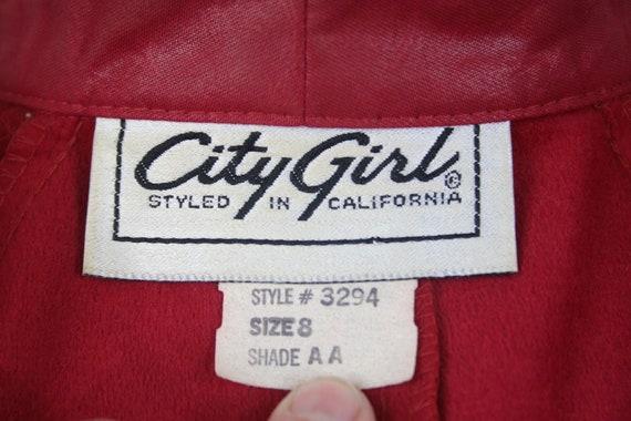 1980s Pants and Jacket Set City Girl Pant Suit - image 10
