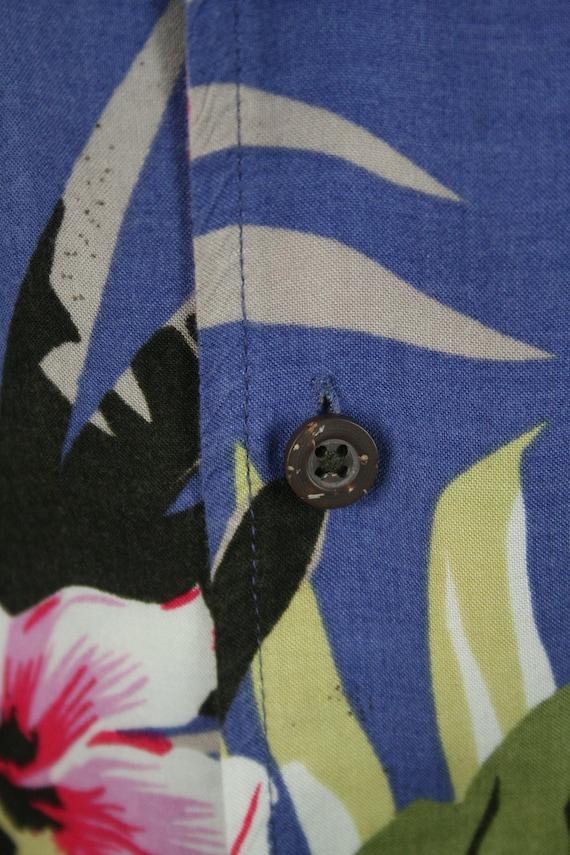Vintage Aloha Shirt Rayon Shirt 3XLT - image 4