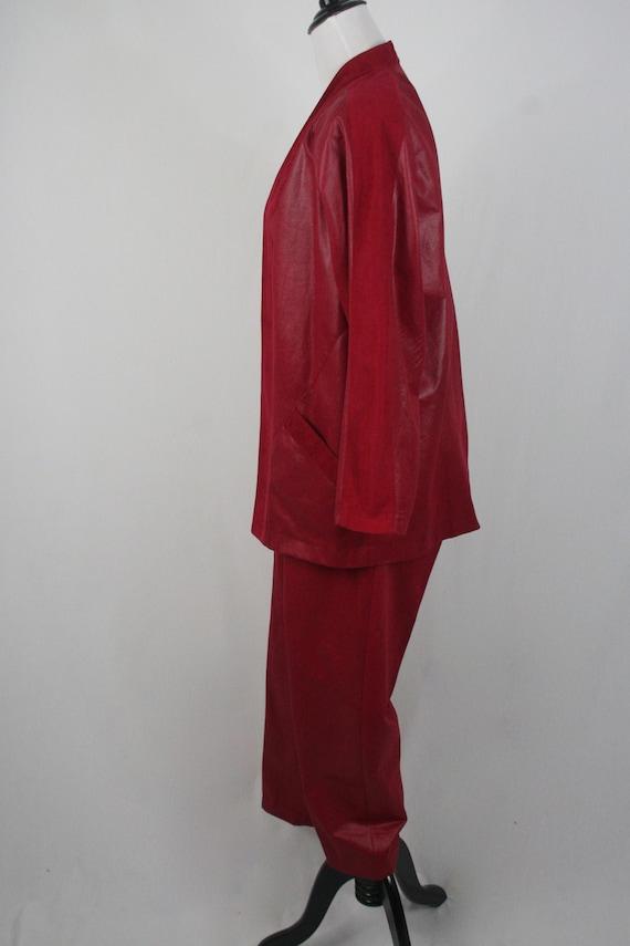 1980s Pants and Jacket Set City Girl Pant Suit - image 7
