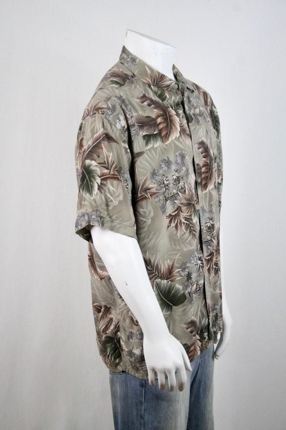Vintage Aloha Shirt Rayon Campia Moda Shirt XL - image 6