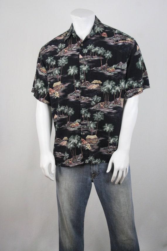 Vintage Aloha Shirt Rayon Moda Campia Moda Shirt … - image 3