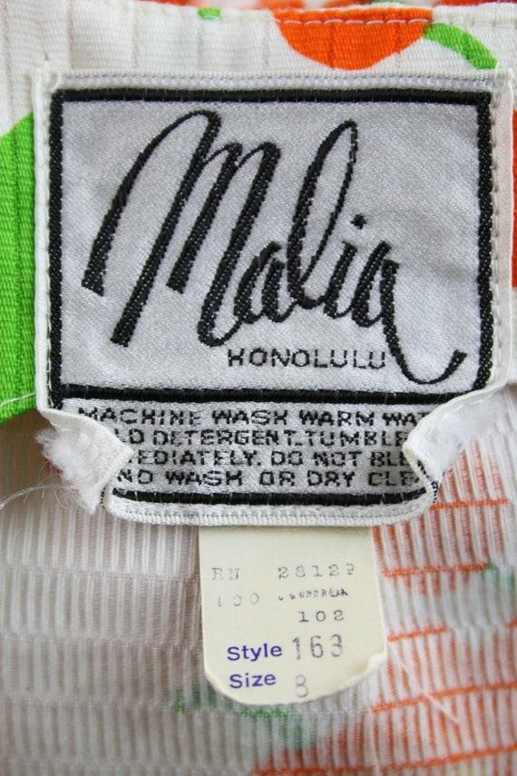 1970s Hawaiian Dress Maxi Dress by Malia Honolulu - image 10