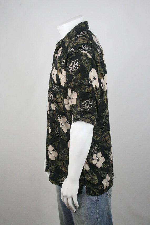 Vintage Aloha Shirt Rayon M.E. Sport Shirt XL - image 7