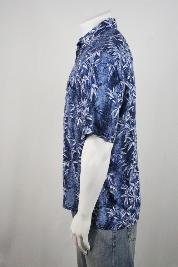 Vintage Aloha Shirt Rayon Puritan Shirt Medium - image 7