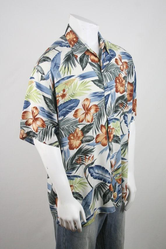 Vintage Aloha Shirt Rayon Shirt XL - image 5