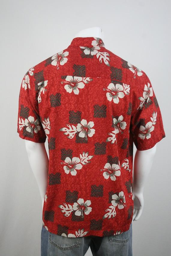 Vintage Aloha Shirt Rayon Ocian Pacific Shirt Med… - image 6