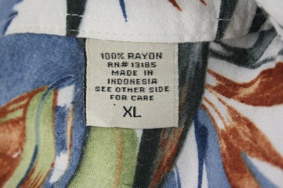 Vintage Aloha Shirt Rayon Shirt XL - image 9