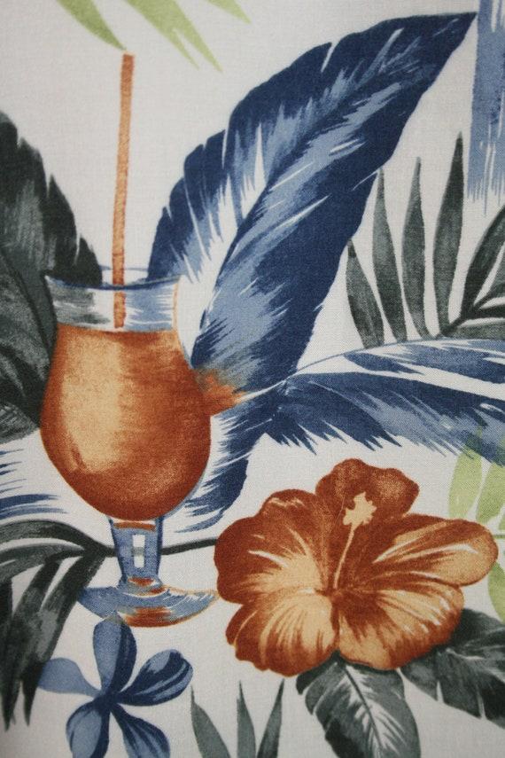 Vintage Aloha Shirt Rayon Shirt XL - image 8