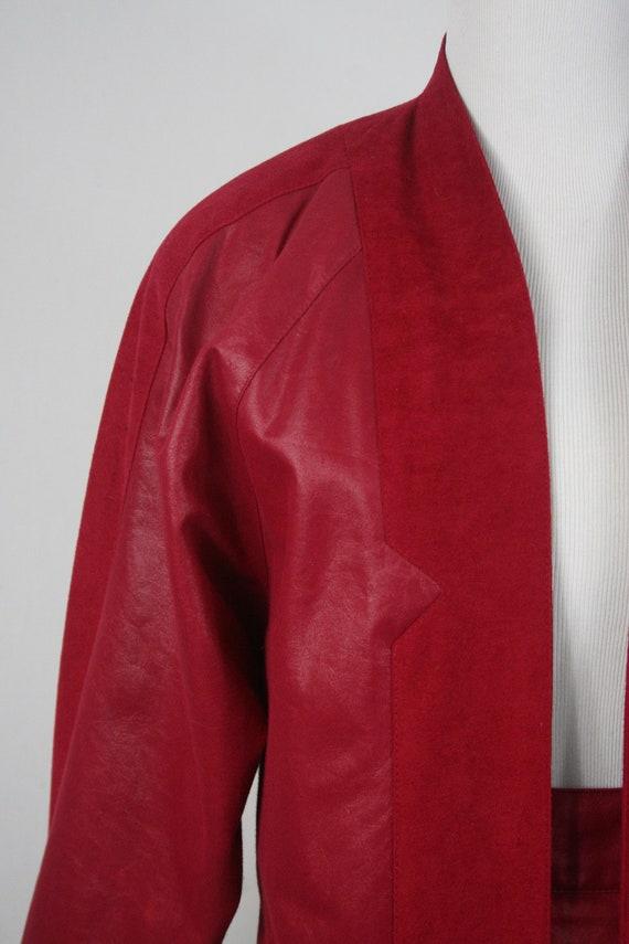 1980s Pants and Jacket Set City Girl Pant Suit - image 3