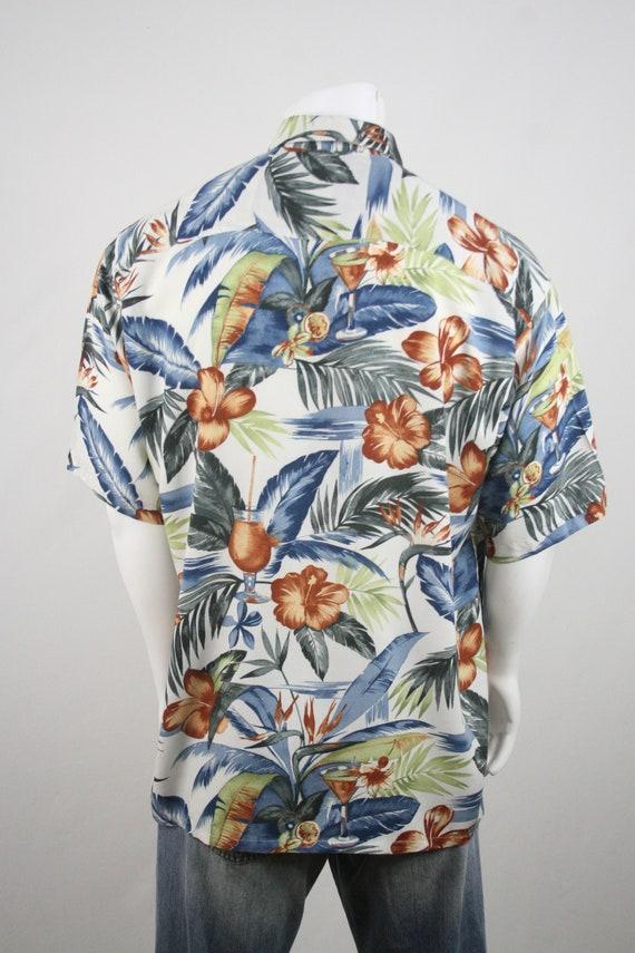 Vintage Aloha Shirt Rayon Shirt XL - image 6