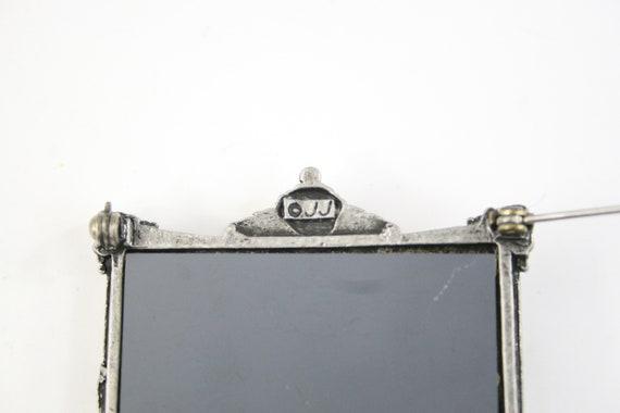 Vintage Brooch JJ Jonette Puppy in Mirror Novelty… - image 4