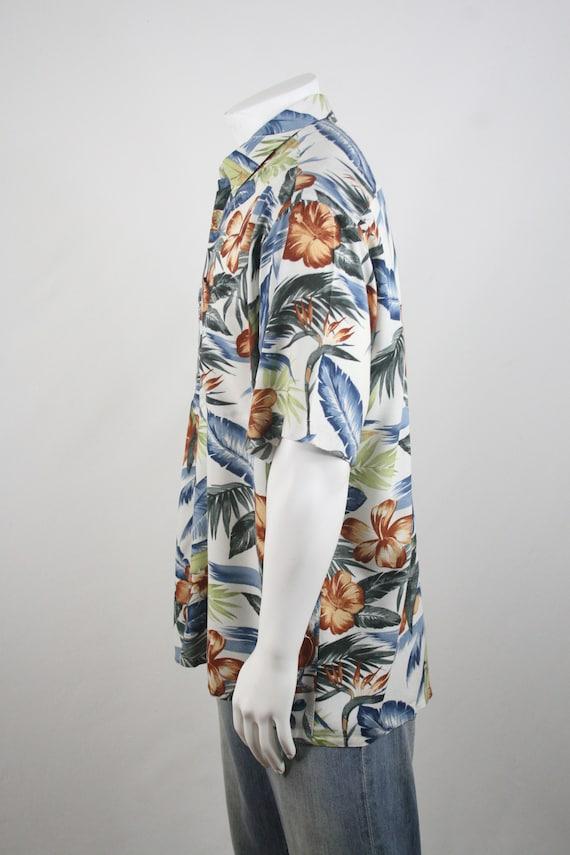 Vintage Aloha Shirt Rayon Shirt XL - image 7