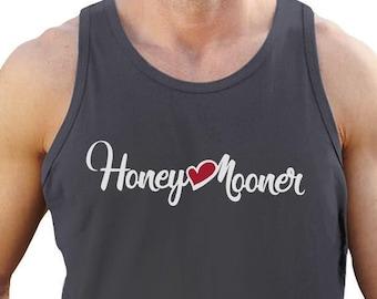 Honeymooner Wedding Gift - Men's Tank Top Singlet