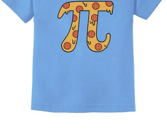Pizza Pi Funny Pi Day Gift Cute Toddler//Kids Long Sleeve T-Shirt Tstars
