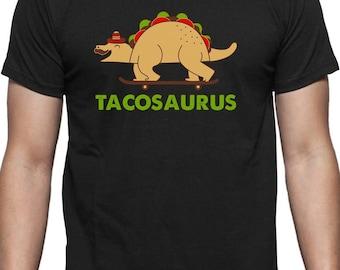 Let/'s Taco bout ça Drôle cinco de mayo Foodie à manches courtes T-shirt tees tshirts