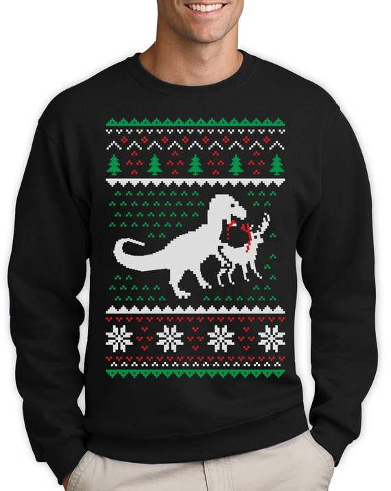 image 0 - Dinosaur Christmas Sweater