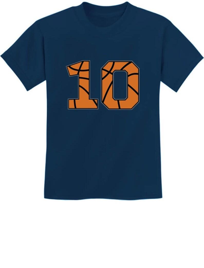 Basketball 10th Birthday Gift for Ten Year old Youth Kids Sweatshirt