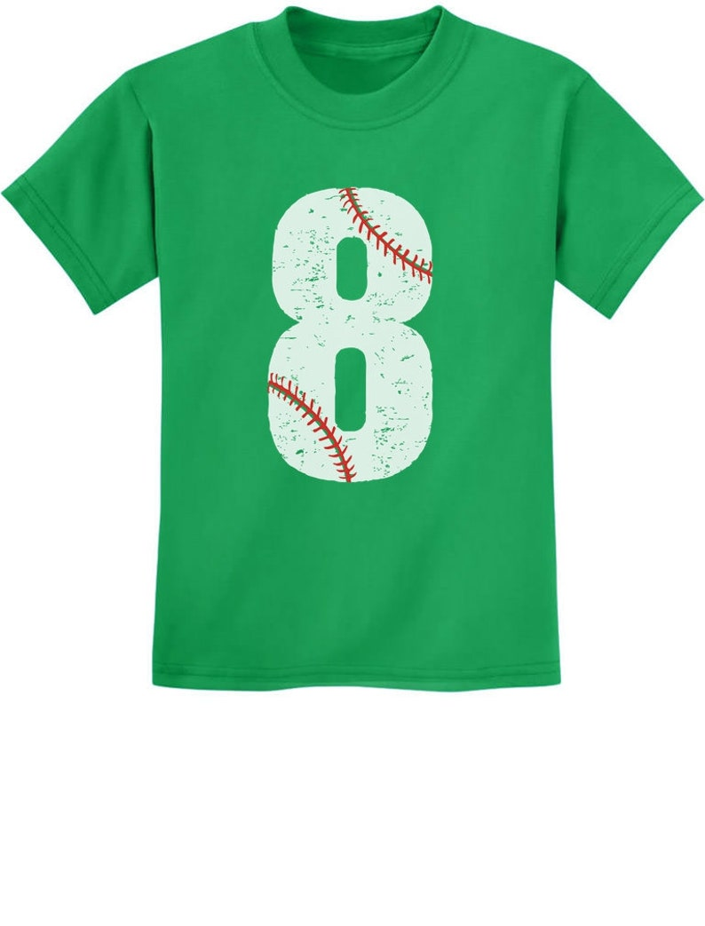 8th Birthday Gift For Eight Year Old Baseball Fan Youth Kids