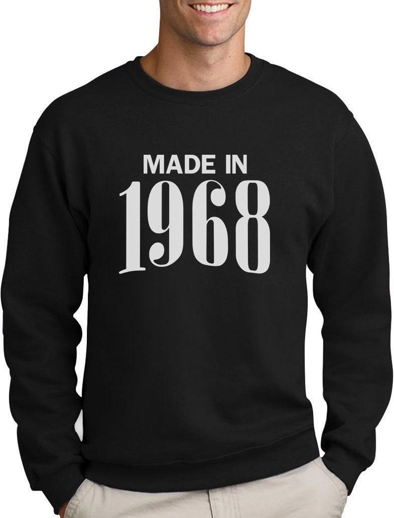 Made In 1968 Sweatshirt 51st Birthday Gift Idea