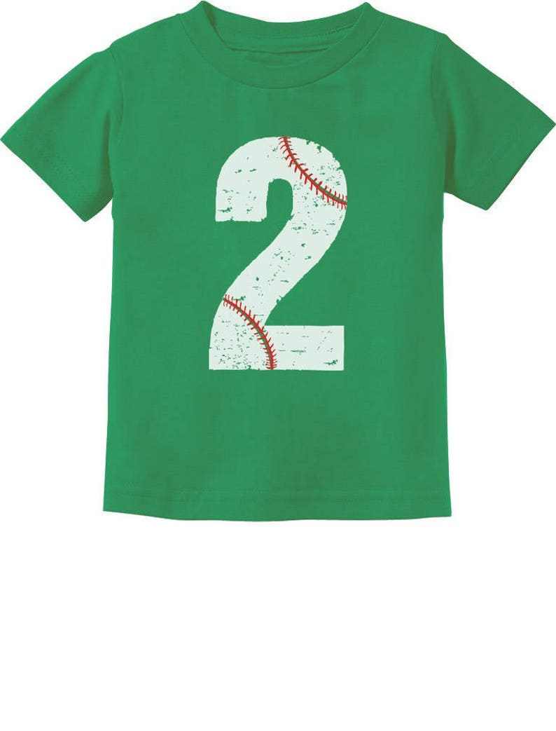 Baseball 2nd Birthday Gift For Two Year Old Toddler Kids