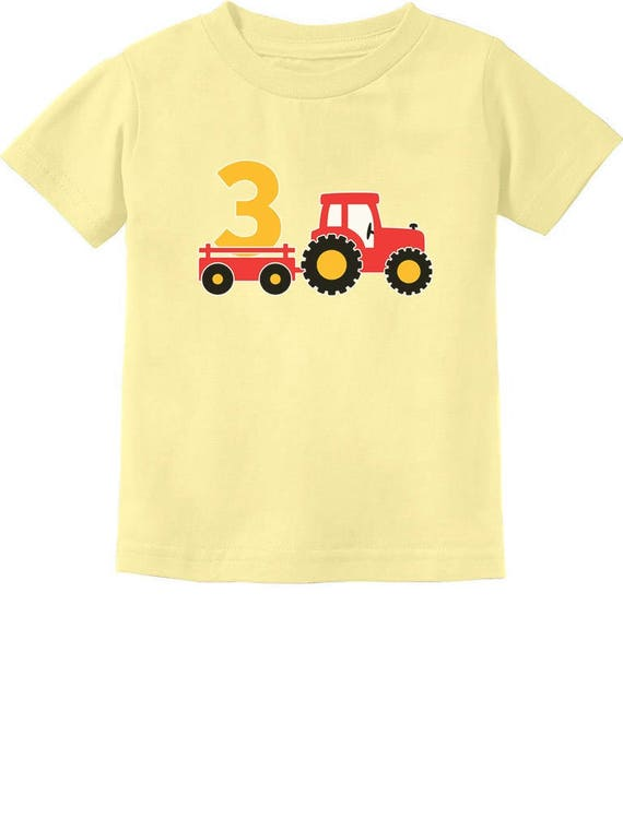 3rd Birthday Gift Construction Party 3 Year Old Boy Toddler