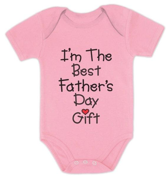 Ich Bin Der Beste Vatertag Geschenk Baby Kurzarm Body