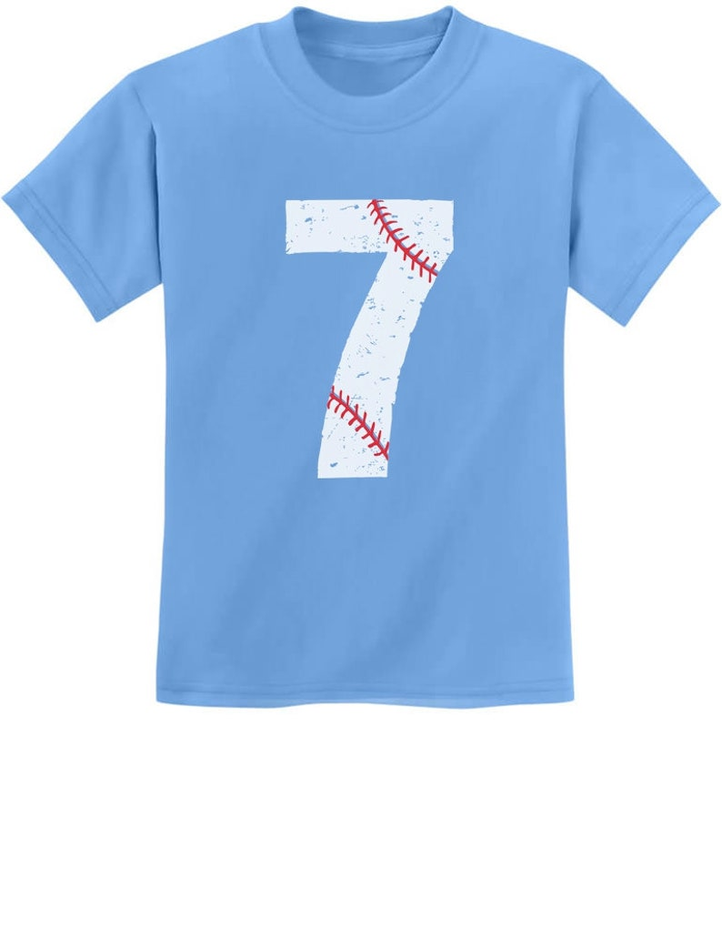 7th Birthday Gift For Seven Year Old Baseball Fan Youth Kids
