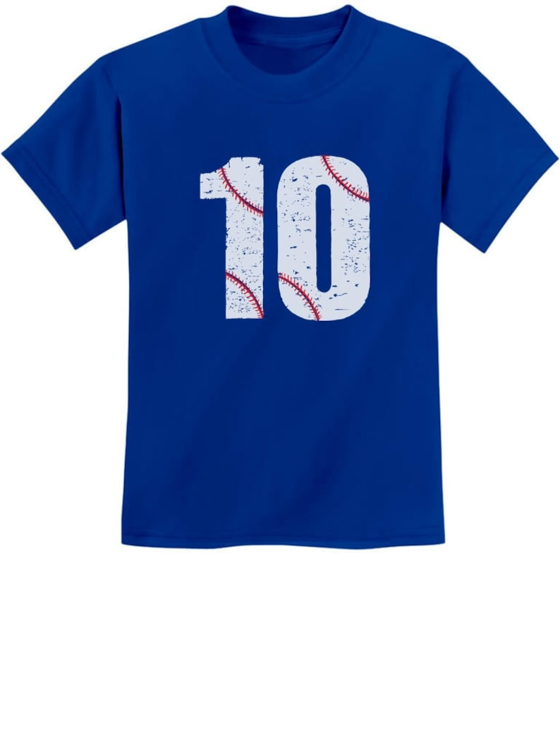 10th Birthday Gift For Ten Year Old Baseball Fan Youth Kids