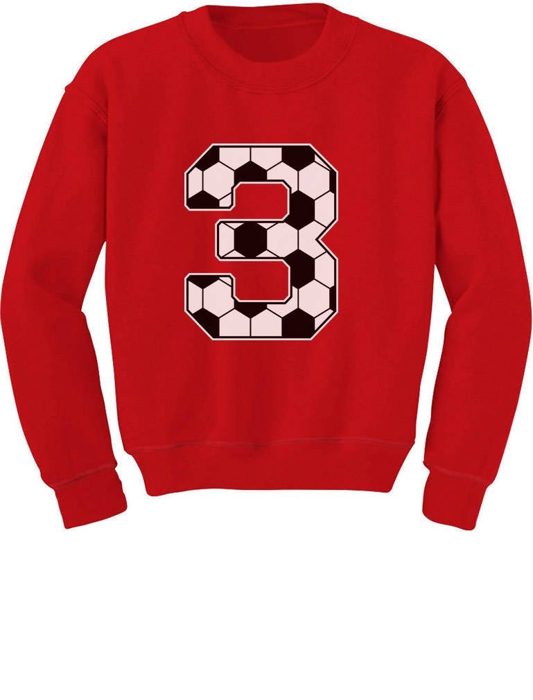3rd Birthday Gift 3 Year Old Soccer Fan Toddler Kids