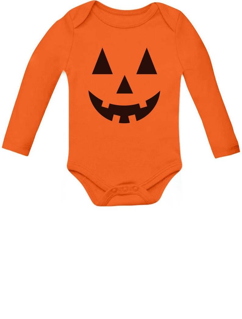 Halloween Infant Jack O/' Lantern Baby Long Sleeve Bodysuit Cute Little Pumpkin