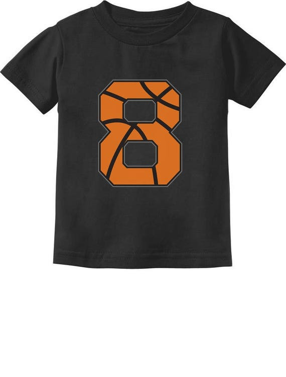 Basketball 8th Birthday Gift For Eight Year Old Toddler Kids