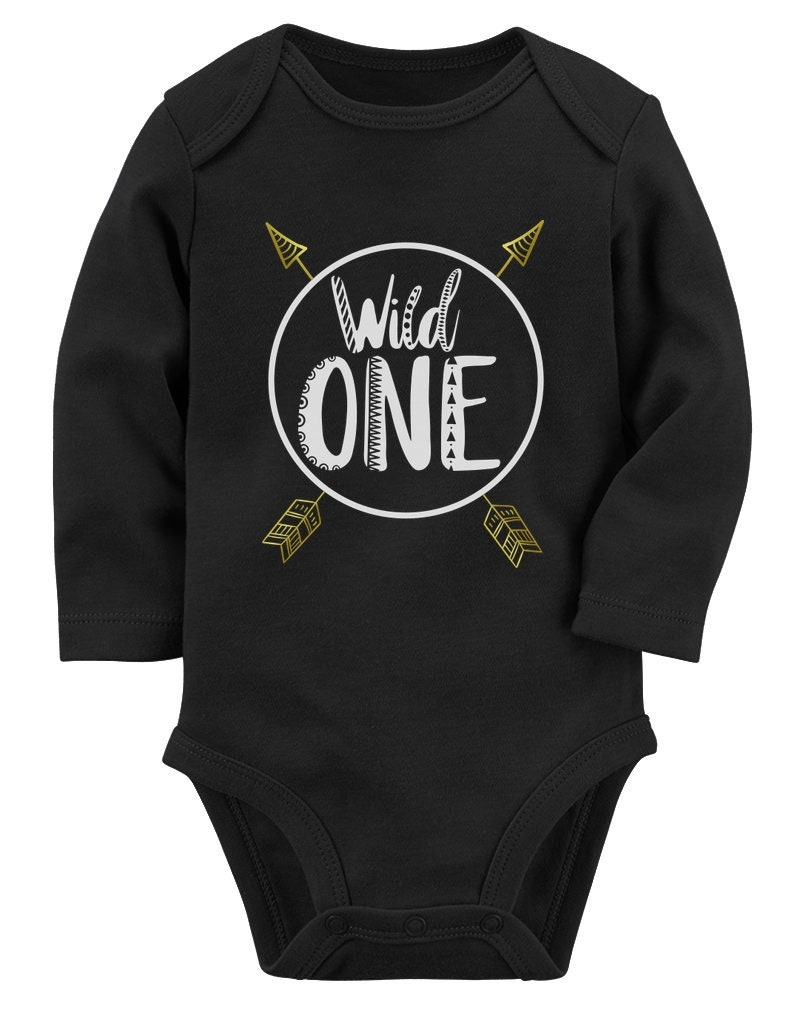 3196b8eb4 Wild One Baby Boys Girls 1st Birthday Gifts One Year Old Baby   Etsy