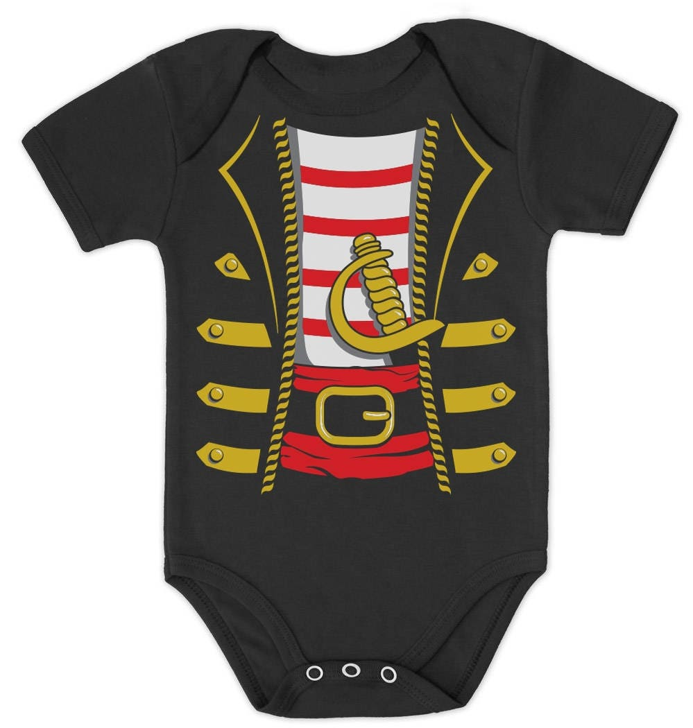 a41a01f0 Halloween Pirate Buccaneer Costume Outfit Suit Baby Bodysuit