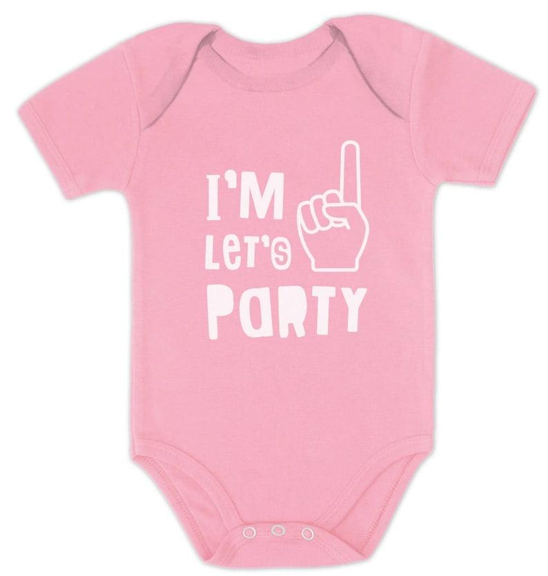 First Birthday Gift Boy  Girl 1st Bday One Year Old Baby Bodysuit