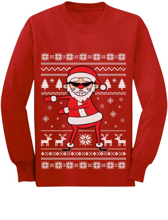 6y Funny Outfit Toddler Boys 2y Big Trex Santa Ugly Christmas Sweater