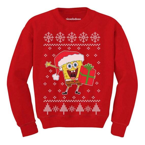 Ugly Christmas Boys//Girls Santa On Snowboard Toddler Hoodie Tstars