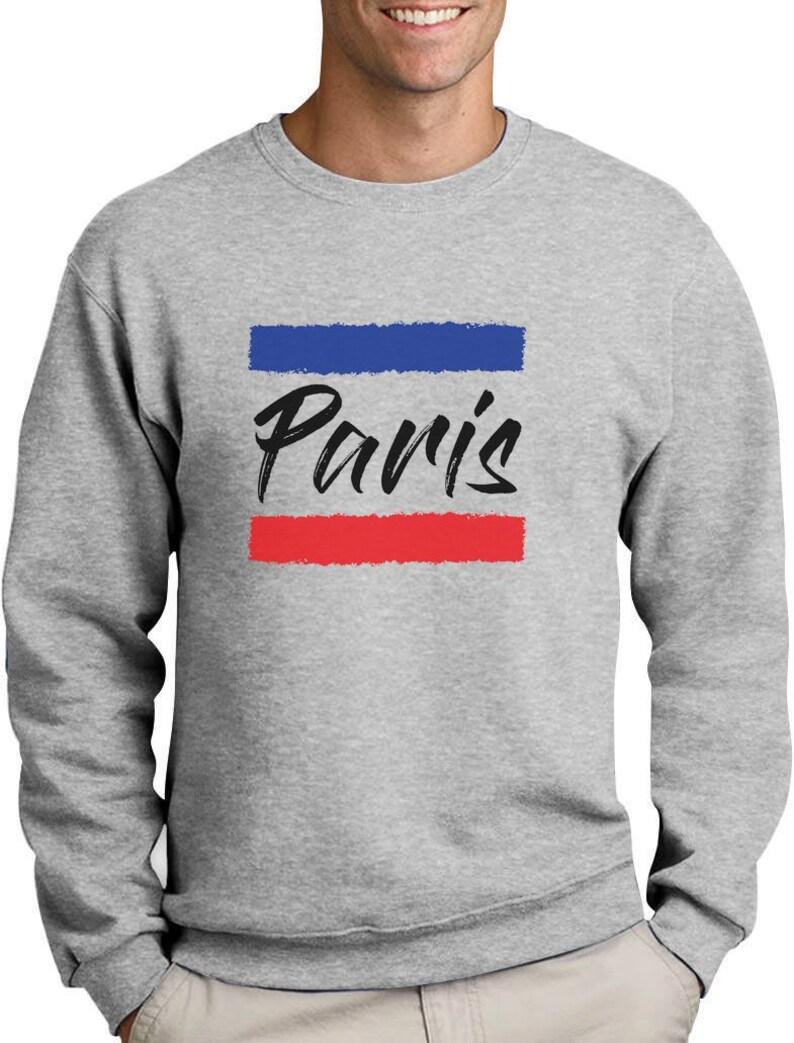 Bastille Day French Patriot Gift Love Paris Flag Sweatshirt