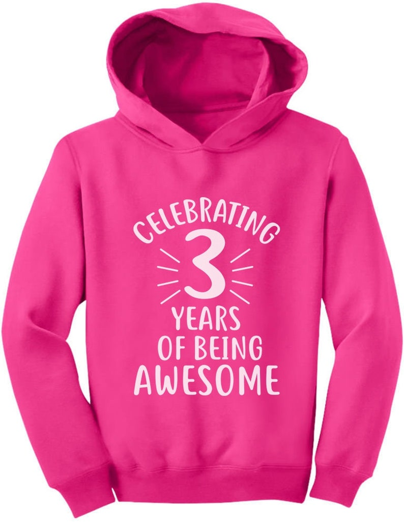 3 Years Of Being Awesome Birthday Gift For Year Old Toddler