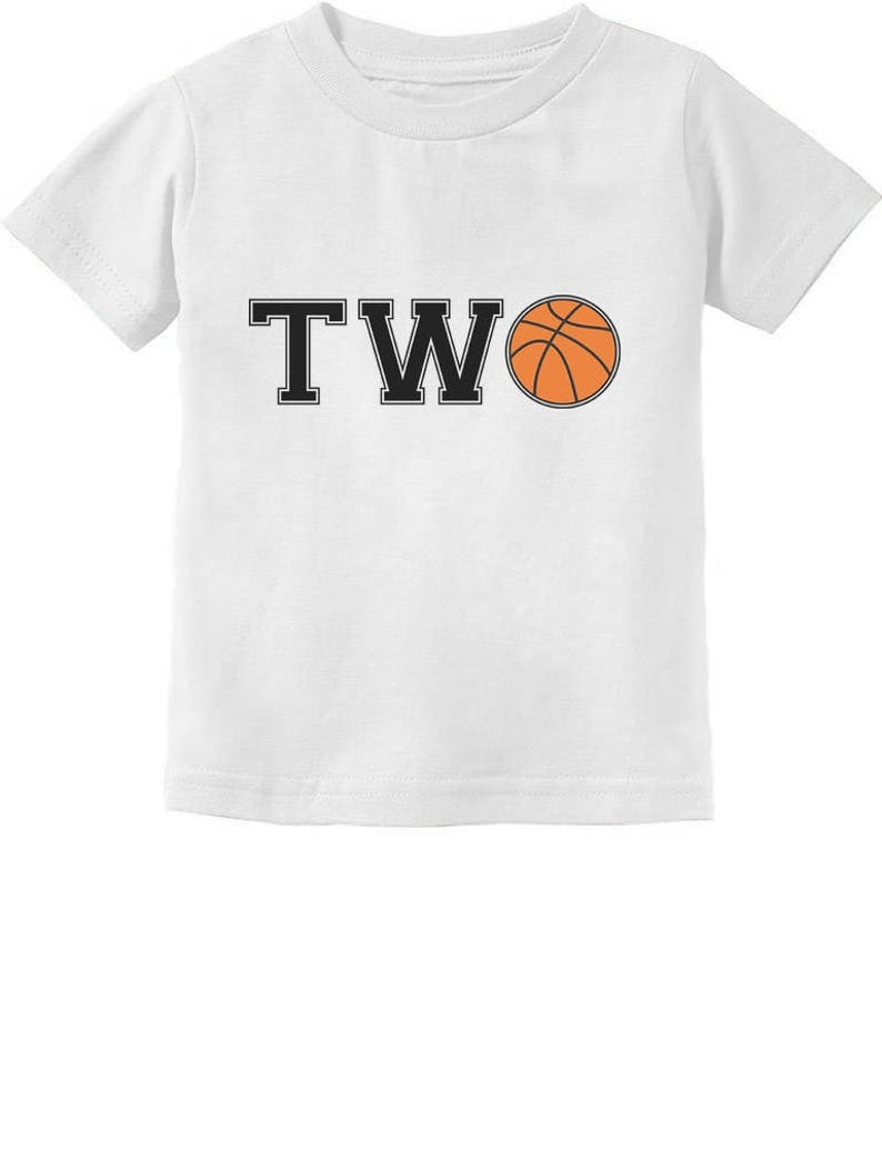 2nd Birthday Gift For Two Year Old Basketball Toddler Kids