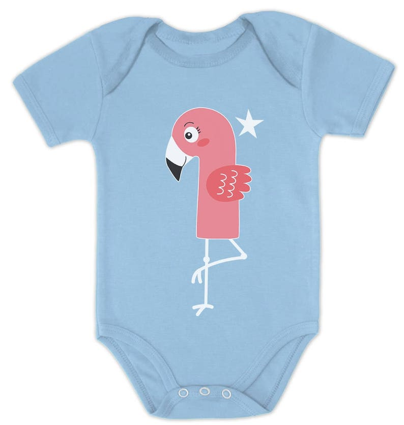 1st Birthday Gift For One Year Old Infant Flamingo Baby