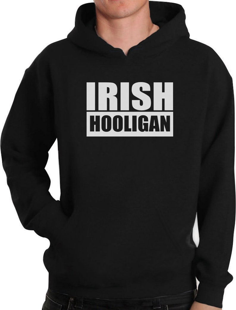 Irish Hooligan Green Outfit For St Patrick Day Hoodie