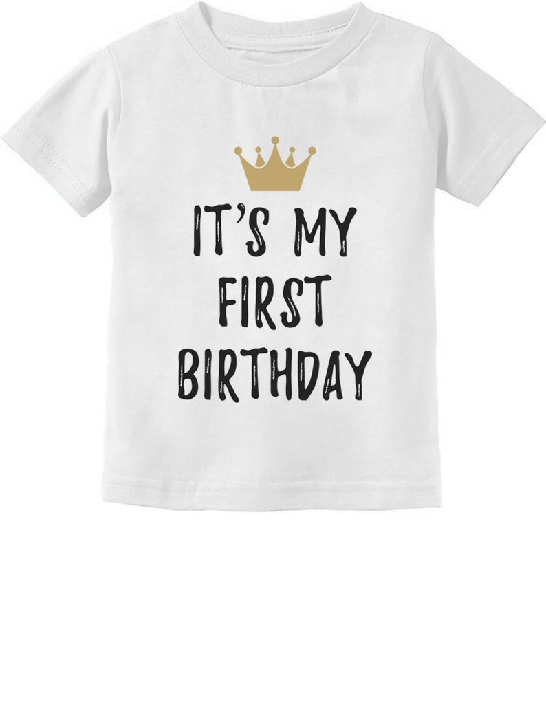Baby Boy Girl 1st Birthday Gift One Year Old Crown