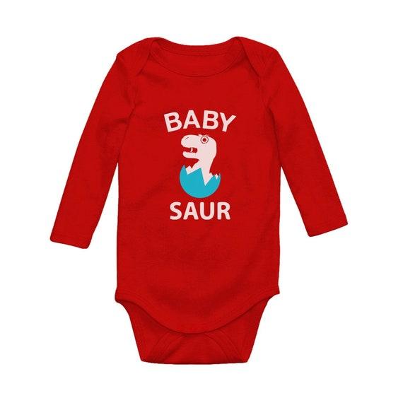 Tstars Cute Baby Saur T-Rex Raptor Infant Kids T-Shirt