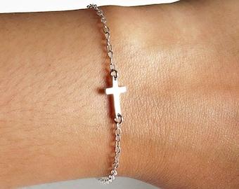 Sideways Cross Bracelet 190a07996